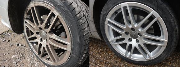 Car alloy refurbishment